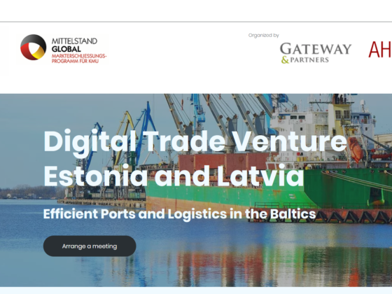 Eficient ports in the baltics
